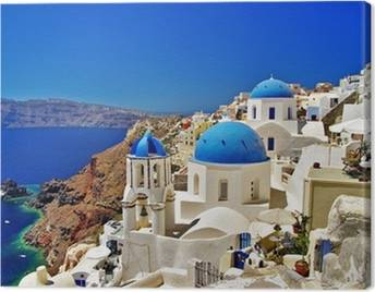 Greece Canvas Prints