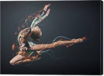 Gymnastics Canvas Prints
