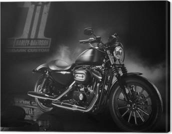Canvas Harley-Davidson