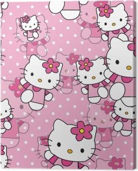 Hello Kitty Canvas Prints