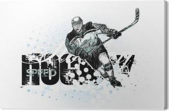 Hockey Canvas Prints