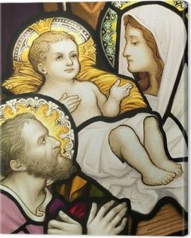 Holy Family Canvas Prints