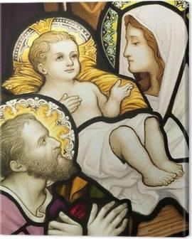 Quadri su Tela Sacra Famiglia