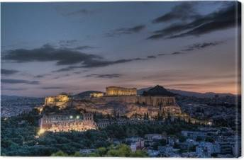 Athens Canvas Prints