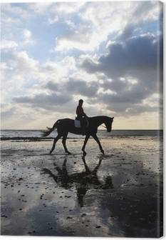 Horse-riding Canvas Prints