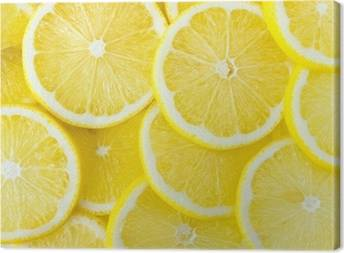 Lemons Canvas Prints