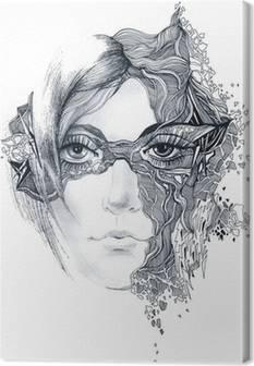 Leinwandbilder Masken