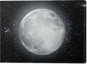 Obrazy na płótnie Księżyc