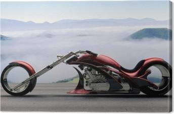 Motorcycles Canvas Prints
