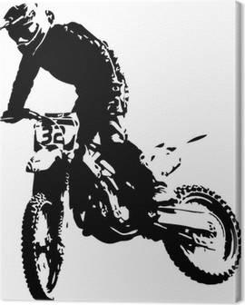 Tableaux sur Toile Sport Motocycliste