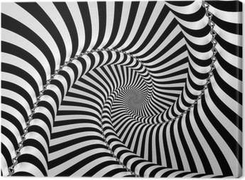 Optical illusion Canvas Prints