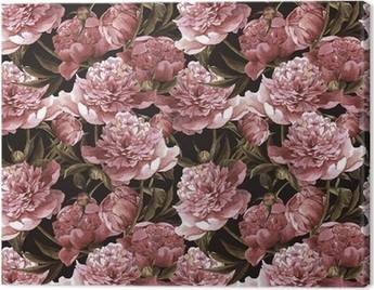 Peonies Canvas Prints