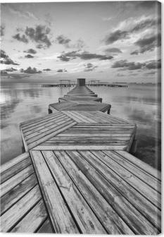 Pier Canvas Prints