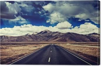 Roads Canvas Prints