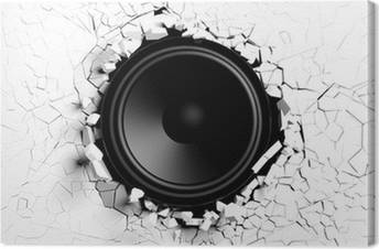 Speakers Canvas Prints