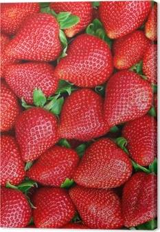 Strawberries Canvas Prints