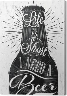 Leinwandbilder Bier