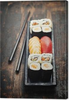 Sushi Canvas Prints