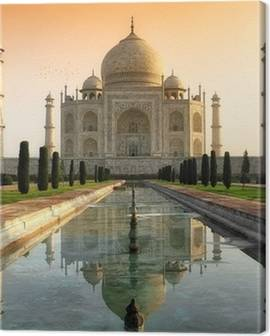 Taj Mahal Canvas Prints