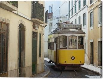 Trams Canvas Prints