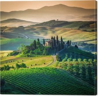 Canvas Toscane