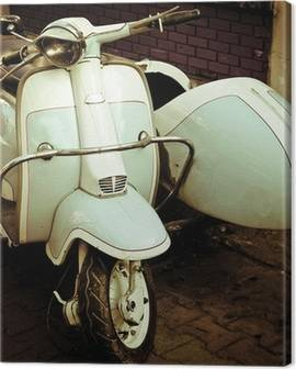 Vespa Canvas Prints
