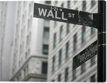 Wall Street Canvas Prints