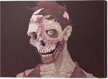 Zombie Canvas Prints