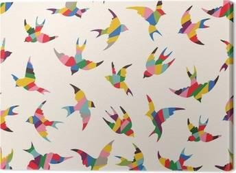Canvastavlor Fåglar