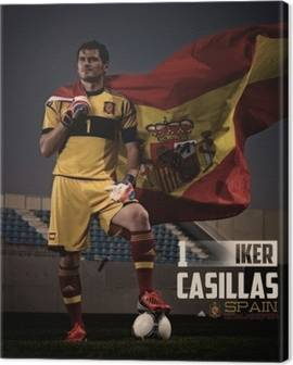 Canvastavlor Iker Casillas