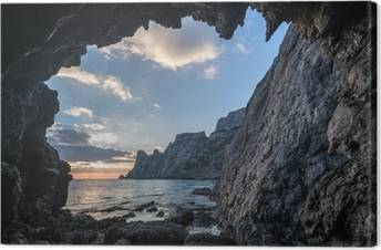 Leinwandbilder Höhlen