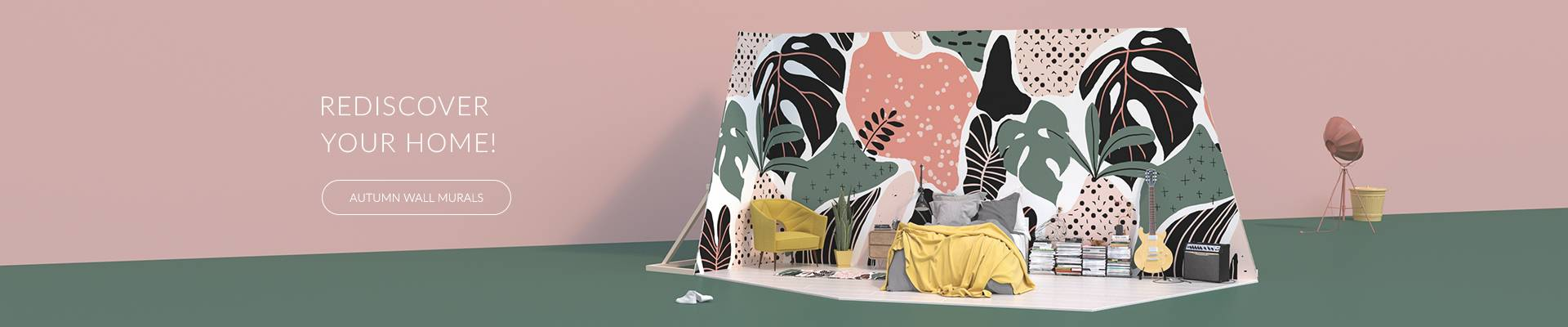 Wall mural - Tropical camouflage