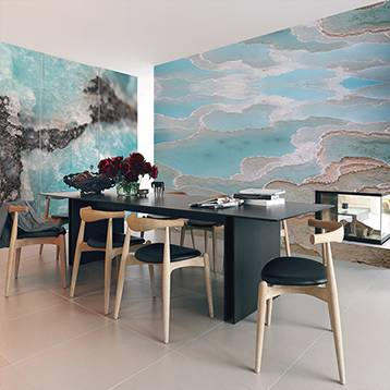 Wall Mural - Turquoise beauty of nature