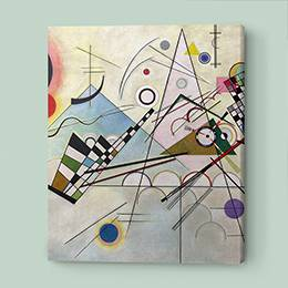Canvas Print - Bunte Abstraktion