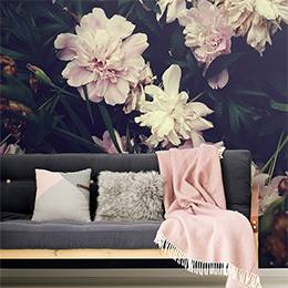 Wall Mural - Artistic floral pattern