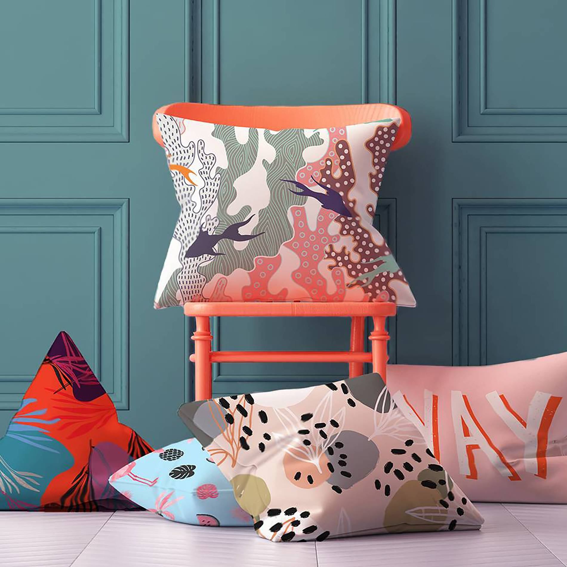 Pink Mix Teenager S Room Eclectic Nature Pillows Textures And Patterns Pixers We Live To Change