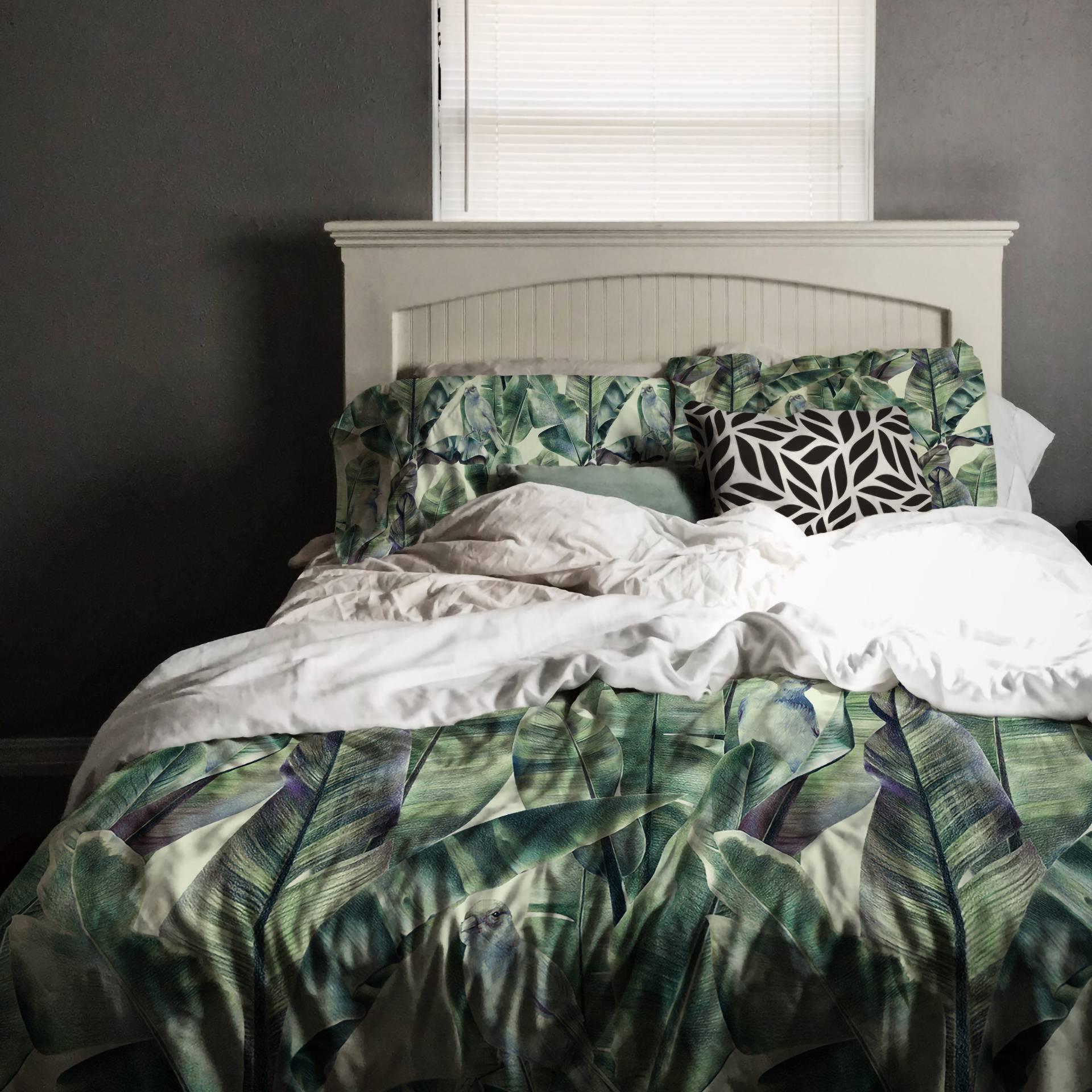 Piumoni Camera Da Letto classy jungle • classico - per camera da letto - eclettico - cuscini -  federe per piumoni - natura - fiori - sfondi e motivi • pixers.it