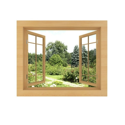 window view isolated on a white