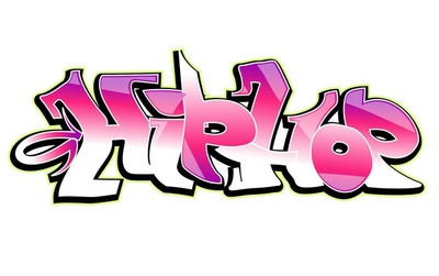 Graffiti vector design. Hip-hop