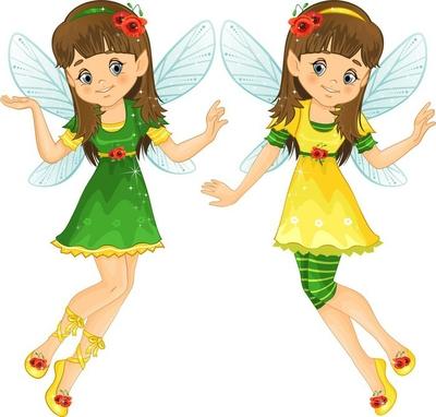 Fairies poppies