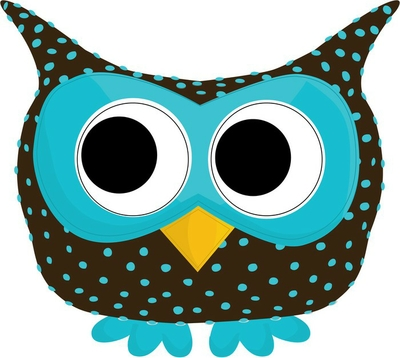 blue dotted owl