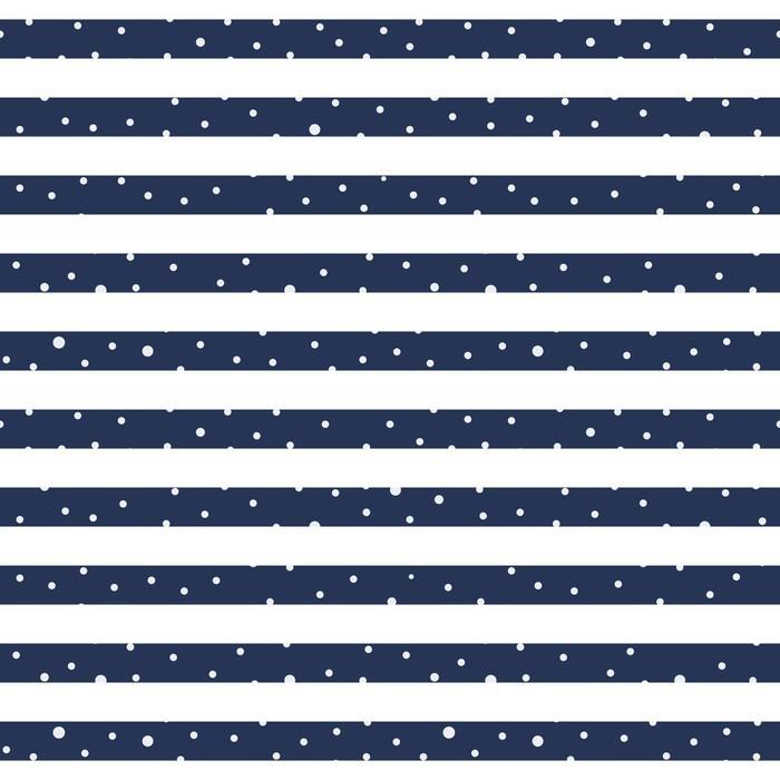 Carta da Parati in Vinile Abstract pattern senza soluzione di continuità orizzontale a strisce - Per cameretta