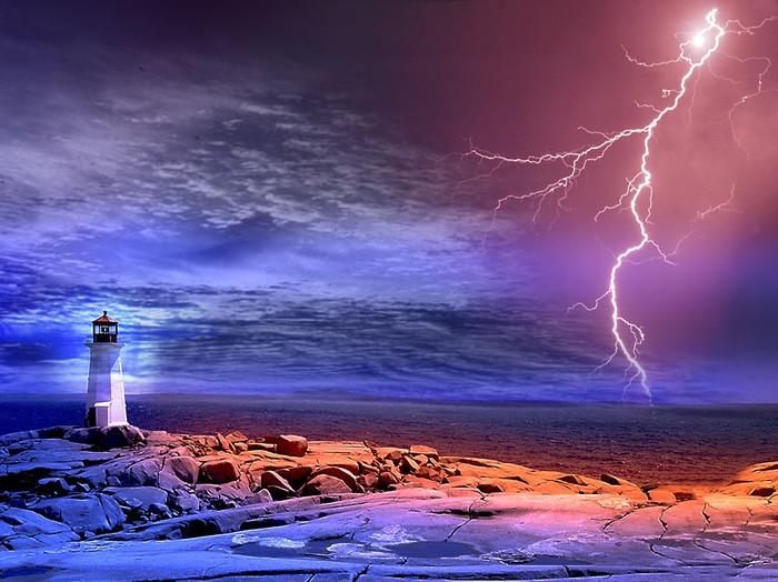 Tableau sur Toile Lighthouse2 - Phare