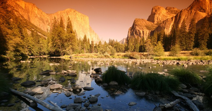 Vinylová Tapeta Yosemite národní park - Amerika