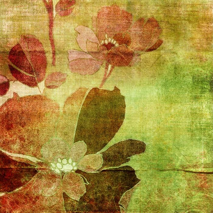 papier peint vintage floral background pixers nous. Black Bedroom Furniture Sets. Home Design Ideas