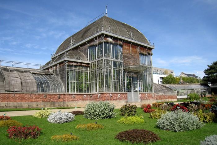 Aufkleber Serre du jardin botanique de Nantes - Pixerstick