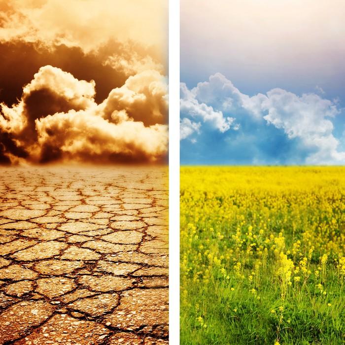 Vinylová Tapeta Ekologické katastrofy - Nebe