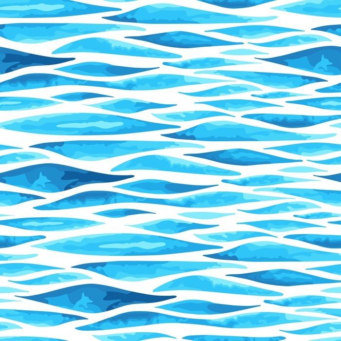 papier peint seamless horizontal background de la mer. Black Bedroom Furniture Sets. Home Design Ideas