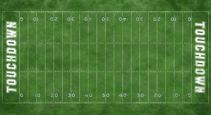 Nice Football Field Or Soccer Field Wall Mural   Vinyl   Individual Sports Part 15