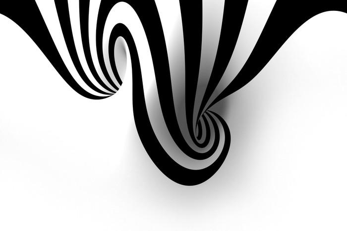 Vinylová fototapeta Abstraktní spirála s prázdným prostorem - Vinylová fototapeta